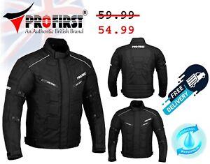 Men Motorcycle Cordura Racing Jacket Waterproof Motorbike Armoured Jackets Size