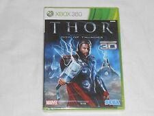 NEW JAPAN VERSION Thor : God of Thunder XBox 360 Game SEALED JAPANESE IMPORT J