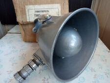 Vintage GR-1 Loudspeaker Horn Waterproof Megaphone Worker Soviet USSR 80th