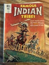 Famous Indian Tribes (Dell, 1972 series) #2 (July 1962)