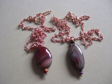 Agate Handmade Natural Costume Necklaces & Pendants