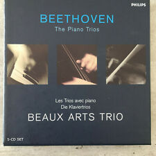 BEETHOVEN: The Piano Trios - Beaux Arts Trio (5-CD-Box Philips 468 411-2 / NM)