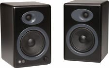 Audioengine A5+B Black Premium Powered Bookshelf Speakers - NEW with Warranty