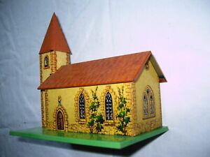 Blechspielzeug  Kirche Modelleisenbahn Konvolut Zubehör Rarität