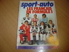 Sport Auto N°198 Alfasud Ti & Sprint 1500.24 heures du Mans