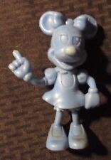 """Vintage Louis Marx 5.75"""" Minnie Mouse Blue Plastic Figure Vg+ 4.5"""