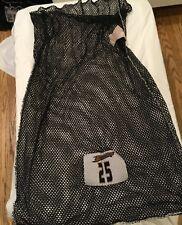 #25 black Anaheim Ducks pro stock laundry bag Nhl