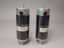 Lot of (2) Globe Motors 537A185 24 Volts Labinal Components Motors -Used AS IS