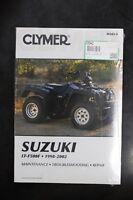 New Clymer Service Shop Manual Suzuki LT-F500F 1998-2002  M343