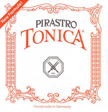 Tonica Violin D  String 4/4  Silver  Wound Medium