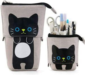 CTLFUN Pen case gray cat
