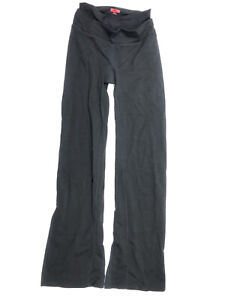 Spanx Women's Size Small Pants Bootcut Gusset High Rise Black Leggings