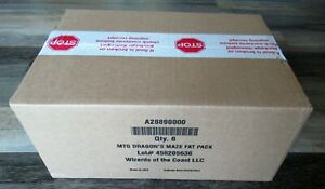 6x Dragon's Maze English FAT PACK Factory Sealed CASE - MTG Magic the Gathering