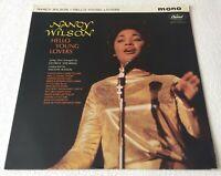 NANCY WILSON ~ HELLO YOUNG LOVERS ~ 1962 UK 12-TRACK MONO VINYL LP RECORD
