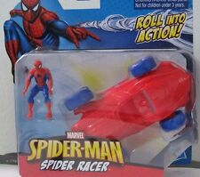 Marvel Spider-Man Roll into Action Spider Racer with Figure