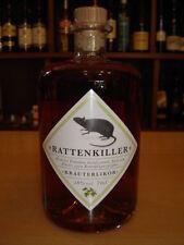 Original Rattenkiller Kräuterlikör 50 % Vol. Kräuter Likör 700 ml Kräuterschnaps