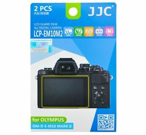 JJC LCP-EM10M2 Screen Protector for OLYMPUS OM-D E-M10 MARK II / Nikon Z FC