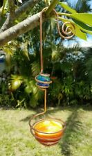 Copper Oriole Feeder - Handcrafted Bird Feeder