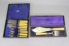 RARE 14 PIECE Sterling Silver FISH SERVING SET WITH ORIGINAL BOX