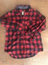 LL Bean Buffalo Check Wool Hunting Shirt Jacket Size Medium