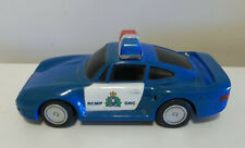 RCMP Porsche Police car plastic 1:18th scale Mountie