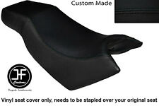 BLACK VINYL CUSTOM FITS KYMCO CK PULSAR 125 OLD SHAPE DUAL SEAT COVER ONLY