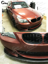CARKING 04-09 CARBON FIBER BMW E60 M5 K2-style FRONT BUMPER LIP SPLITTER SPOILER