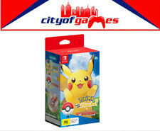 Pokemon Lets Go! Pikachu with Pokeball Plus Bundle Switch New In Stock