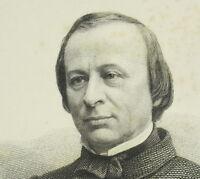 Porträt D'Edward Lefebvre von Laboulaye c1880 D' Ap Félix Nadar Jc Levasseur Sc