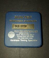 Sun-tec Hardness Standard 94.6 HRBW Brand New