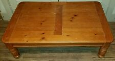 Wood Coffee Table Rectangle Light Weight Removable Legs Living Room Furniture