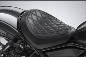 2021 Genuine Honda Rebel 1100 Custom Rider Seat (Black) 08R75-MLA-A00ZB