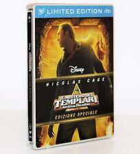 IL MISTERO DEI TEMPLARI [NICOLAS CAGE] STEELBOOK LIMITED EDITION [DVD + BLU-RAY]