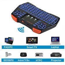 Mini Teclado US portátil 2.4GHz controlador Touchpad Ratón Combo + batería Li-Ion