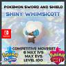Ultra Shiny Whimsicott | Pokemon Sword & Shield | 6IVS | Level 100 | Competitive