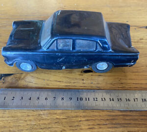 VINTAGE 1/24 SLOT CAR BRASS Tube Chassis Ford Cortina Alloy Wheels