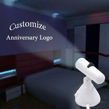 Customize Anniversary Logo Home Party Lamp LED Laser Projector Shadow Light