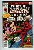 1978 Marvel Comics WHAT IF no. 8 WORLD KNEW DAREDEVIL IS BLIND VF/NM 1161