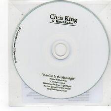 (FS732) Chris King & Hotel Radio, Pale Girl In The Moonlight - 2014 DJ CD