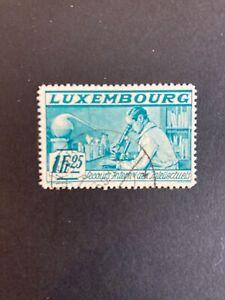 Luxembourg 1935 Semi-Postal Scott B65J (Used)               (N76)