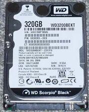 WD Black 320 GB Hardisk 2.5 Inch 7200 RPM, SATA II(WD3200BEKT) 320 GB Laptop WD
