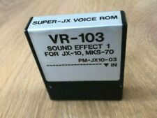 Roland JX-10 MKS-70 VR-103 SUPER JX VOICE ROM SOUND EFFECT 1 From Japan