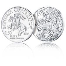 Bullion Autriche 2019 1 once argent – Robin des Bois