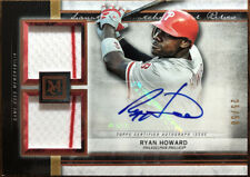2020 Topps Museum Ryan Howard Phillies Auto Dual Relic #'d/50 Mint #SSDA-RH