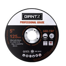 "Giantz 100 x 5"" Cutting Disc 125mm Metal Cut Off Wheel Angle Grinder Thin Steel"