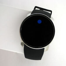 Movado Bold Touch Screen Digital Dual Time Watch 3600146 Mens White Silicone