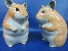 Hamster Salt & Pepper - Hamster Cruet - Gift Boxed - Brand New
