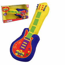 """The Wiggles Play Along Guitar plush toy 14""""/36cm With Sound Chip - Licensed"""