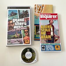 Grand Theft Auto: Vice City Stories (Sony Psp, 2006) Complete w/ Map! Tested!