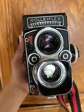 rolleiflex 3.5f white face w/ carl zeiss planar